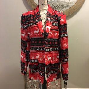 Men's Christmas Blazer Size L